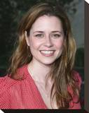 Jenna Fischer Stretched Canvas Print