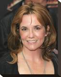 Lea Thompson Stretched Canvas Print