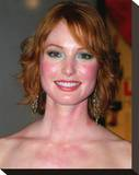 Alicia Witt Stretched Canvas Print