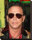 Mickey Rourke Stretched Canvas Print