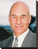 Patrick Stewart Stretched Canvas Print