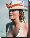 Bo Derek - 10 Stretched Canvas Print