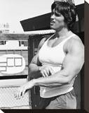 Arnold Schwarzenegger Stretched Canvas Print