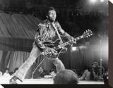 Chuck Berry Stretched Canvas Print