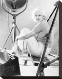 Jean Harlow Reproducción en lienzo de la lámina