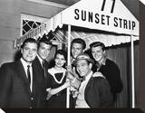 77 Sunset Strip Stretched Canvas Print