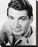 Gene Barry Stretched Canvas Print