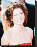 Debra Messing Stretched Canvas Print