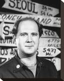 David Ogden Stiers - M*A*S*H Stretched Canvas Print