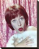 Carol Burnett Stretched Canvas Print