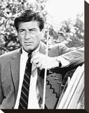 Efrem Zimbalist Jr. - The F.B.I. Stretched Canvas Print