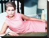 Alexandra Bastedo - The Champions Stretched Canvas Print