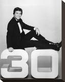 Dick Clark - American Bandstand's 30th Anniversary Special Stretched Canvas Print
