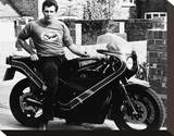 Lewis Collins Stretched Canvas Print