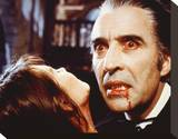 Christopher Lee - Dracula A.D. 1972 Stretched Canvas Print