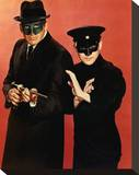 The Green Hornet Stretched Canvas Print