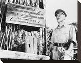 Alec Guinness - The Bridge on the River Kwai Stretched Canvas Print