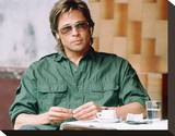 Brad Pitt - Spy Game Stretched Canvas Print