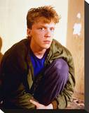 Anthony Michael Hall Stretched Canvas Print