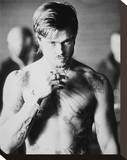 Brad Pitt - Fight Club Stretched Canvas Print
