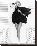 Ginger Rogers Stretched Canvas Print
