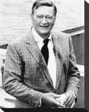 John Wayne - McQ Stretched Canvas Print
