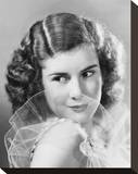 Dinah Sheridan Stretched Canvas Print