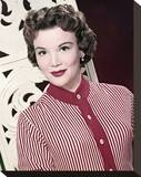 Nanette Fabray Stretched Canvas Print