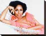 Diahann Carroll Stretched Canvas Print