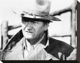 John Wayne - The Cowboys Stretched Canvas Print