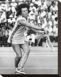 Billie Jean King Stretched Canvas Print