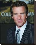 Dennis Quaid Stretched Canvas Print