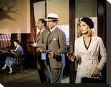 Bonnie and Clyde Stretched Canvas Print