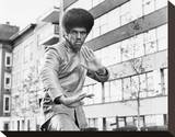 Jim Kelly Stretched Canvas Print