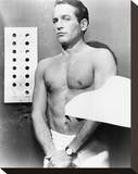 Paul Newman - The Prize Stretched Canvas Print