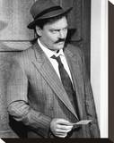 Stacy Keach - Mike Hammer Stretched Canvas Print