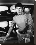 Leonard Nimoy - Star Trek: The Motion Picture Stretched Canvas Print
