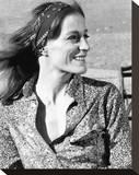 Carrie Snodgress - Love's Dark Ride Stretched Canvas Print