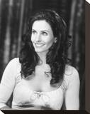 Courteney Cox Stretched Canvas Print