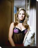 Barbra Streisand - The Owl and the Pussycat Stretched Canvas Print