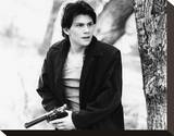 Christian Slater - Heathers Stretched Canvas Print