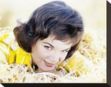 Connie Francis Stretched Canvas Print