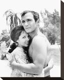 Ben Gazzara - Run for Your Life Stretched Canvas Print