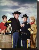 F Troop Stretched Canvas Print