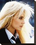 Daryl Hannah - Splash Stretched Canvas Print