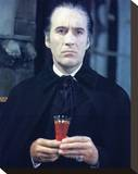 Christopher Lee - Taste the Blood of Dracula Stretched Canvas Print