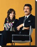McMillan & Wife Stretched Canvas Print
