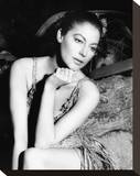 Ava Gardner - The Little Hut Stretched Canvas Print