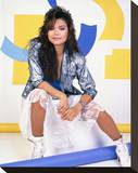 Nia Peeples Stretched Canvas Print