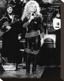 Dolly Parton - Saturday Night Live Stretched Canvas Print